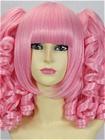 Pink Wig (Medium, Curly, Lolita, 08)
