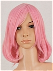 Pink Wig (Medium,Curly,Yuyuko)