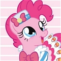 Pinkie Pie Cosplay (Gala Dress) Da My Little Pony