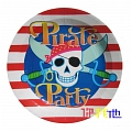 Pirate Party Plates  (P-01)