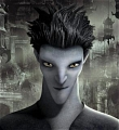 Pitch Black Cosplay from Rise of the Guardians