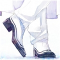 Prince Diamond Shoes from Sailor Moon