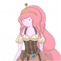 Princess Bubblegum Cosplay Desde Adventure Time