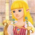 Princesse Zelda Cosplay Desde The Legend of Zelda Skyward Sword