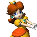 Princess Daisy Costume Da Super Mario