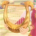 Princesse Zelda Harp (Goddess Harp) De  The Legend of Zelda Skyward Sword