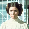 Leia Organa Wig (2nd) De  Star Wars