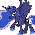 Princess Luna Shoes from My Little Pony Friendship Is Magic