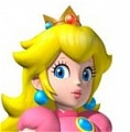 Princess Peach Wig from Super Mario