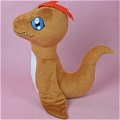Pukamon Plush De  Digimon Adventure