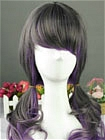 Purple Wig (Long,Wavy,B03)