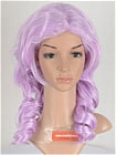 Purple Wig (Medium,Wavy,Ashe)