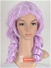 Purple Wig (Medium,Wavy,Ashe)