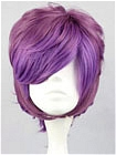 Purple Wig (Mixed,Short,Spike)