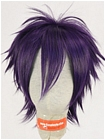 Purple Wig (Short, Spike,Skull)