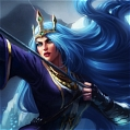 Queen Ashe Cosplay Da League of Legends