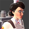 Medic Cosplay von Team Fortress 2