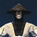 Raiden Cosplay von Mortal Kombat