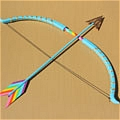Rainbow Dash Bow and Arrow Da My Little Pony