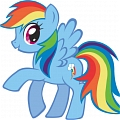 Rainbow Dash Cosplay Da My Little Pony