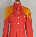 Raivis Coat (Latvia, Red) von Axis Powers Hetalia