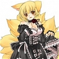 Ran Cosplay (Gothic Lolita) from Touhou Project