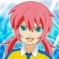 Ranmaru Wig from Inazuma Eleven GO
