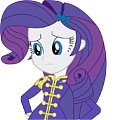 Rarity Cosplay (Wonderbolt Sargent) from My Little Pony Friendship Is Magic