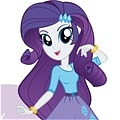 Rarity Cosplay Desde My Little Pony Friendship is Magic