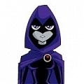 Raven Cosplay from Teen Titans