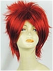 Red Wig (Short,Spike,CF01)