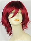 Red Wig (Wine Red,Short,Spike,Senri)