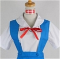 Rei Cosplay (School Uniform,Stock) Desde Neon Genesis Evangelion