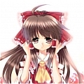 Reimu Cosplay Costume from Touhou Project