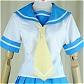 Rena Cosplay (Uniform,Kids) De  Higurashi no Naku Koro ni