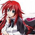 Rias Cosplay (Kuoh Academy) from High School DxD