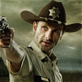 Rick Cosplay von The Walking Dead
