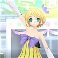 Rin Cosplay (Cheerful Candy) from Project Diva