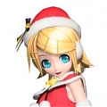 Rin Cosplay (Christmas) Da Project DIVA