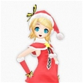 Rin Cosplay (Santa Version) Desde Vocaloid