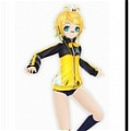 Rin Cosplay (Stylish Energy) De  Project Diva F