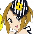 Ritsu Cosplay Costume from K-ON