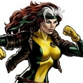 Rogue Wig (Cartoon Version) von X men