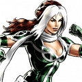 Rogue Wig (Ponytail) De  X men