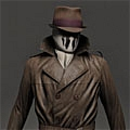 Rorschach Cosplay from Watchmen