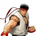 Ryu Cosplay von Street Fighter