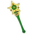Makoto Kino Star Wand Desde Pretty Guardian Sailor Moon