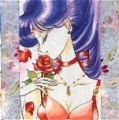 Sailor Mars Cosplay (Illustration) from Sailor Moon