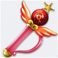 Sailor Mars Crystal Change Rod from Sailor Moon