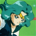 Sailor Neptune Wig (2nd) from Sailor Moon